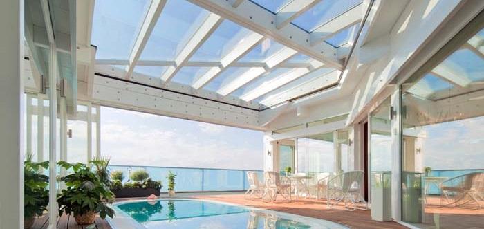 Dachverglasung Glasdach Wintergarten