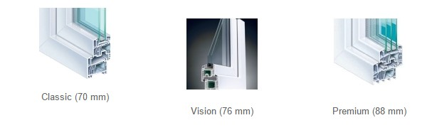 uPVC Double Glazed Windows Size